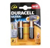 Duracell Batteries - Ultra (AA), 2 nos Pouch