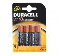Duracell Alkaline Battery - AA, 4 nos Pouch