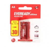 Eveready Alkaline Battery - Ultima (AA , 1.5 V), 2 nos Pouch