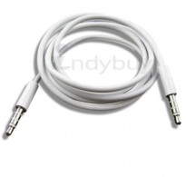 1m 3.5mm Jack to Jack Aux Audio Cable Lead for Sony Xperia Z, Z1, Z Ultra