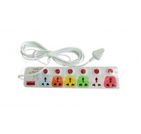 Cona Smyle Spike Buster 5 Meter with 6 sockets and 6 switches