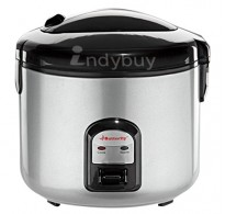 Butterfly Deluxe 2.8-Litre Electrical Rice Cooker (White)