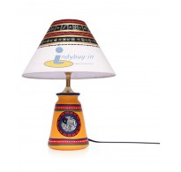 Exclusive Lane Yellow Wooden Night Lamp - 40W