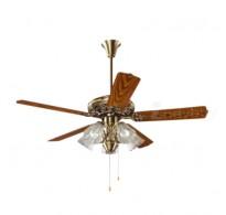 Khaitan Under Light Ceiling Fan - 52'' Imperial copper