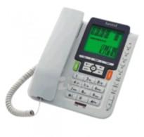 Beetel CLI Corded Phone (White)