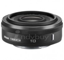 NIKON 1 NIKKOR 10mm f/2.8 LENS BLACK FOR 1 NIKON J1 AND V1 MIRROR LESS CAMERAS