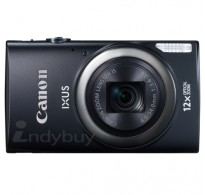 Canon 16 MP Point and Shoot (Black) with 12x Optical Zoom