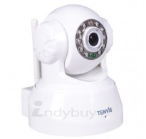 Tenvis TR3818 - P2P Wireless Pan Tilt IP Security Camera Night Vision IR LED Web Came