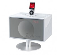 Geneva S-White Docking Speaker