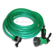 8 Mode Heavy Duty Water Spray Gun, 10 Meters (Green)