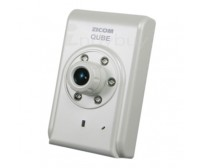 Zicom IP Qube Camera - White